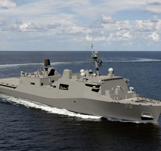 Photo Release--Ingalls Shipbuilding Awarded $1.46 Billion For Construction of Amphibious Transport Dock Fort Lauderdale