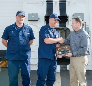 Photo Release—Huntington Ingalls Industries Delivers National Security Cutter Munro to the U.S. Coast Guard