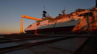 National Security Cutter Kimball: Translation and Launch
