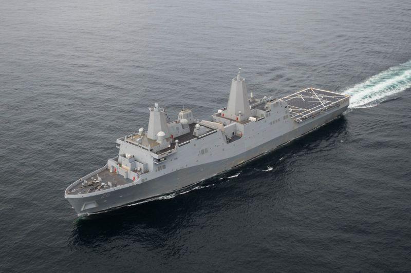 John P. Murtha (LPD 26) Sea Trials