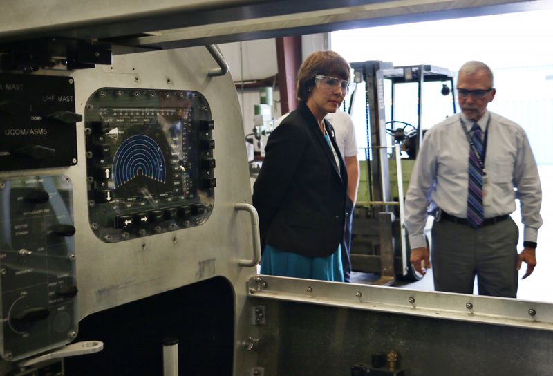 Rep. Gwen Graham visits Undersea Solutions Group
