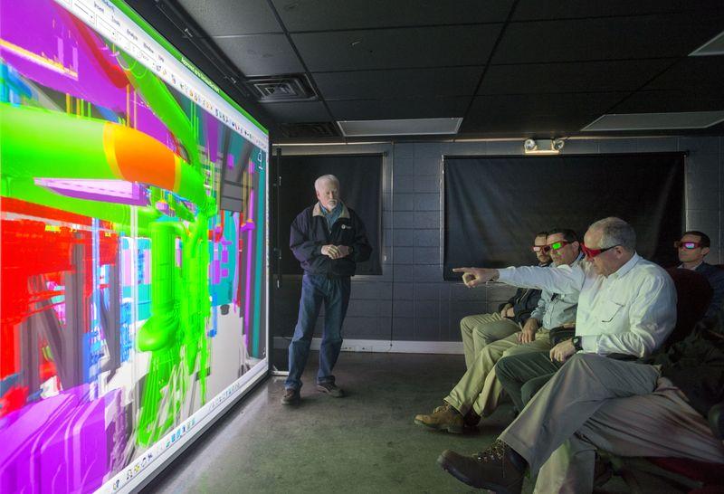 Rep. Mike Conaway Visits Newport News Shipbuilding