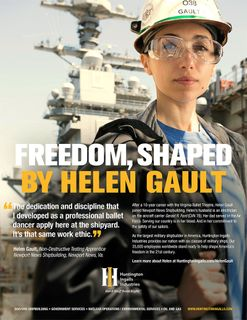 Freedom, Shaped by Helen Gault