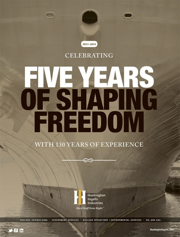 Five Years of Shaping Freedom