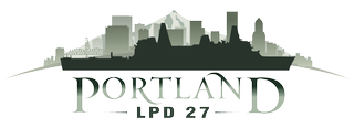 Portland (LPD 27) Christening logo