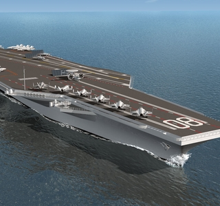 Photo Release--Huntington Ingalls Industries Receives Contract to Kick Off Advance Fabrication of Aircraft Carrier Enterprise (CVN 80)