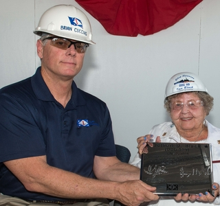 Photo Release--Keel Authenticated For Destroyer Delbert D. Black (DDG 119)