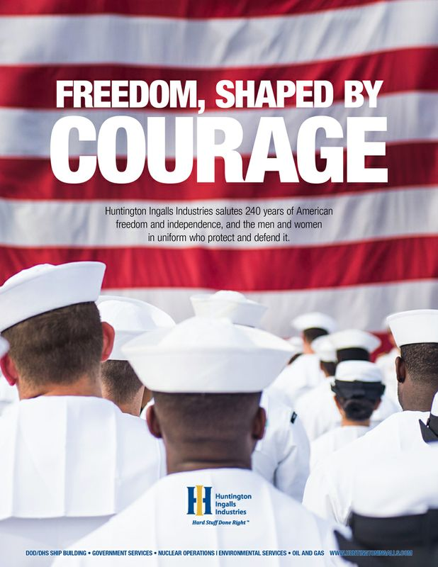 Freedom, Shaped by Courage