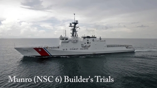 Munro (NSC 6) Builder's Trials