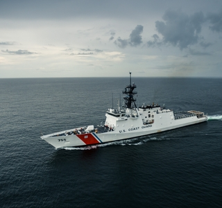 Photo Release--Huntington Ingalls Industries Successfully Completes Acceptance Trials For National Security Cutter Munro