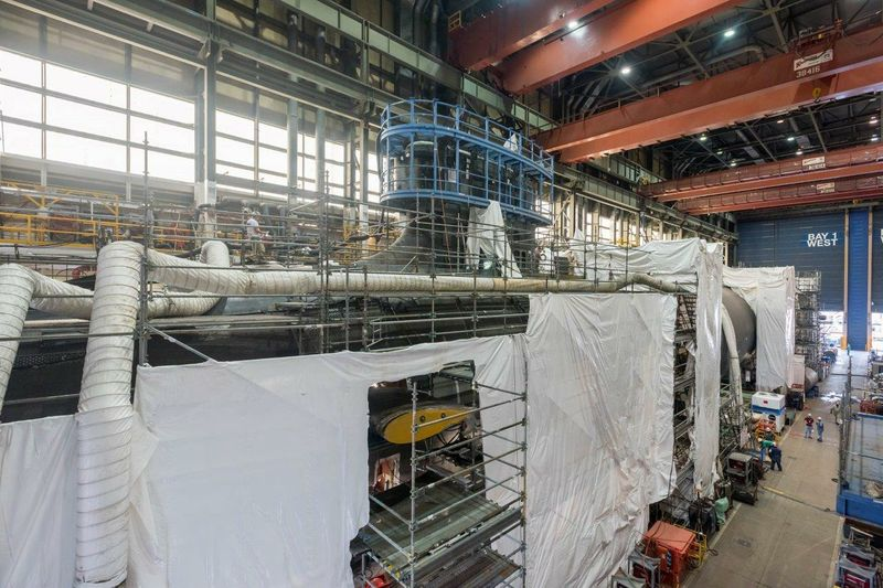 Indiana (SSN 789) Pressure Hull complete