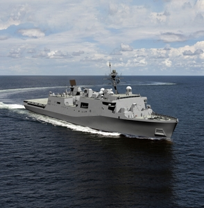 Photo Release--Huntington Ingalls Industries Awarded Design Work For New LX(R) Class of Amphibious Ships