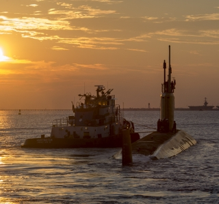 Photo Release--Huntington Ingalls Industries Completes Submarine Post-Shakedown Availability