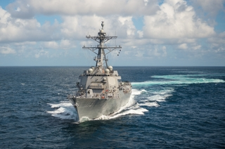 Photo Release--Huntington Ingalls Industries Delivers John Finn (DDG 113) to U.S. Navy on Pearl Harbor Remembrance Day