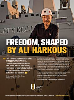 Freedom, Shaped by Ali Harkous