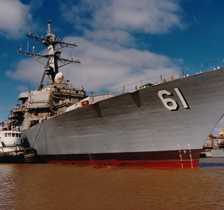 Photo Release--Huntington Ingalls Industries Selected To Perform Overhaul Work On USS Ramage (DDG 61)