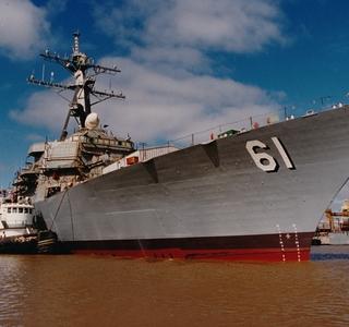 Photo Release--Huntington Ingalls Industries SelectedTo Perform Overhaul Work On USS Ramage (DDG 61)