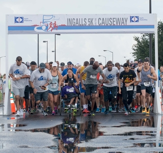 "Photo Release--Ingalls' Fifth Annual ""5K on the Causeway"" Raises $13,000 for Special Olympics"