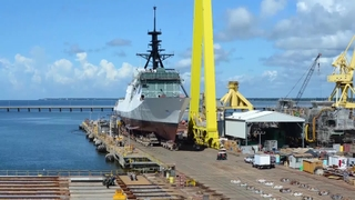 Ingalls Shipbuilding B-Roll