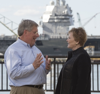 Photo Release--Huntington Ingalls Industries Hosts Rep. Kay Granger at Newport News Shipbuilding
