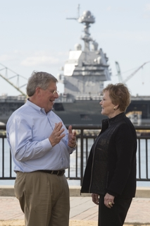 Rep. Kay Granger Visits Newport News Shipbuilding
