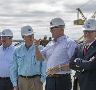 Photo Release--Huntington Ingalls Industries Hosts Secretary of the Navy Richard V. Spencer at Ingalls Shipbuilding