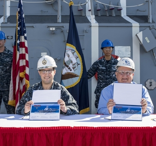 Ingalls Delivers Ralph Johnson (DDG 114)