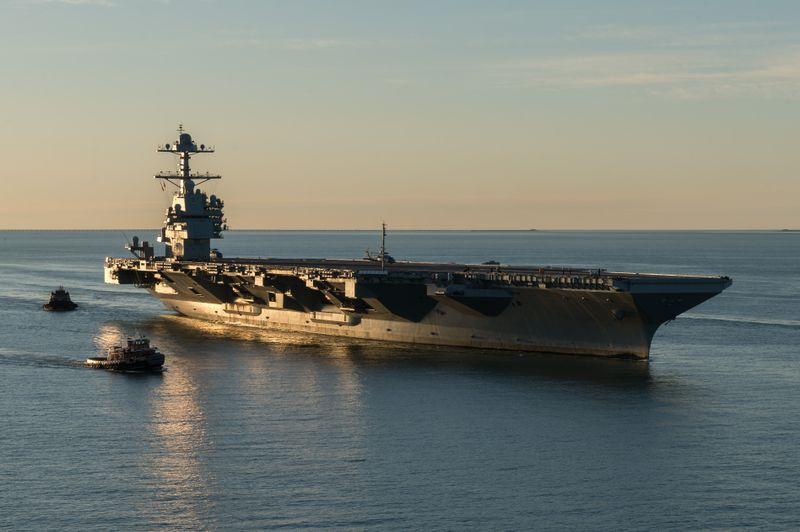Gerald R. Ford (CVN 78) Sea Trials