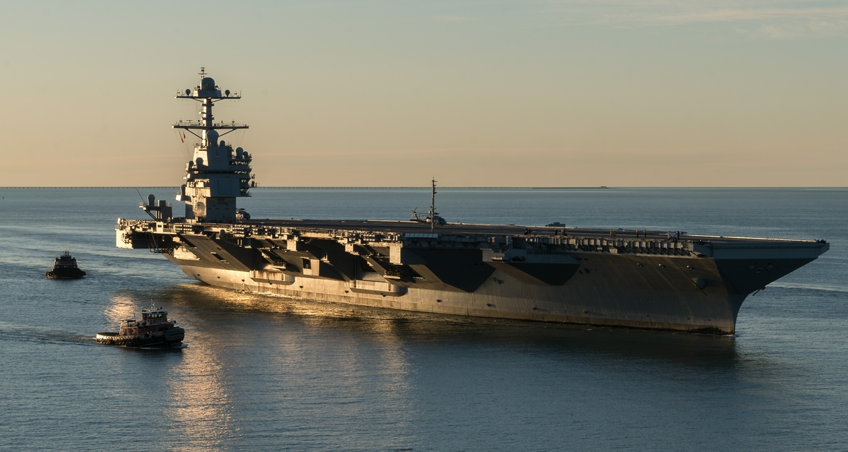 Newport News Shipbuilding Completes Successful Builder's Sea Trials of Gerald R. Ford (CVN 78)