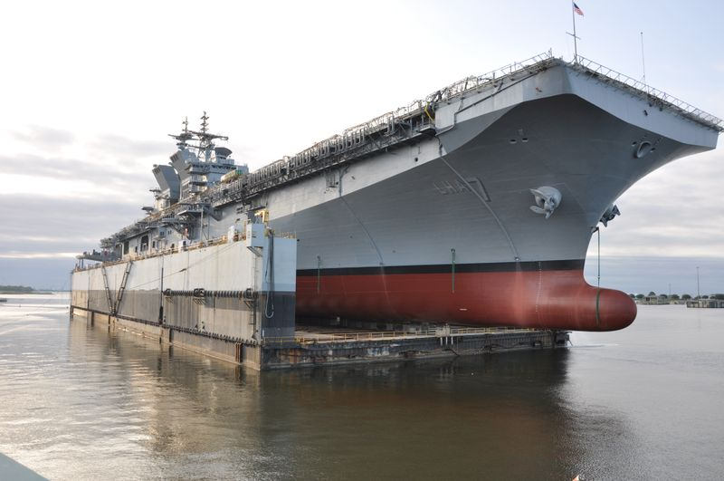 Tripoli on Floating Dry Dock