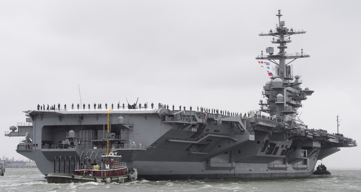 Newport News Shipbuilding Redelivers Aircraft Carrier USS Abraham Lincoln to U.S. Navy