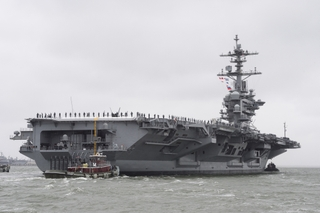 USS Abraham Lincoln Redelivered to U.S. Navy
