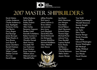 Ingalls Shipbuilding 2017 Master Shipbuilders
