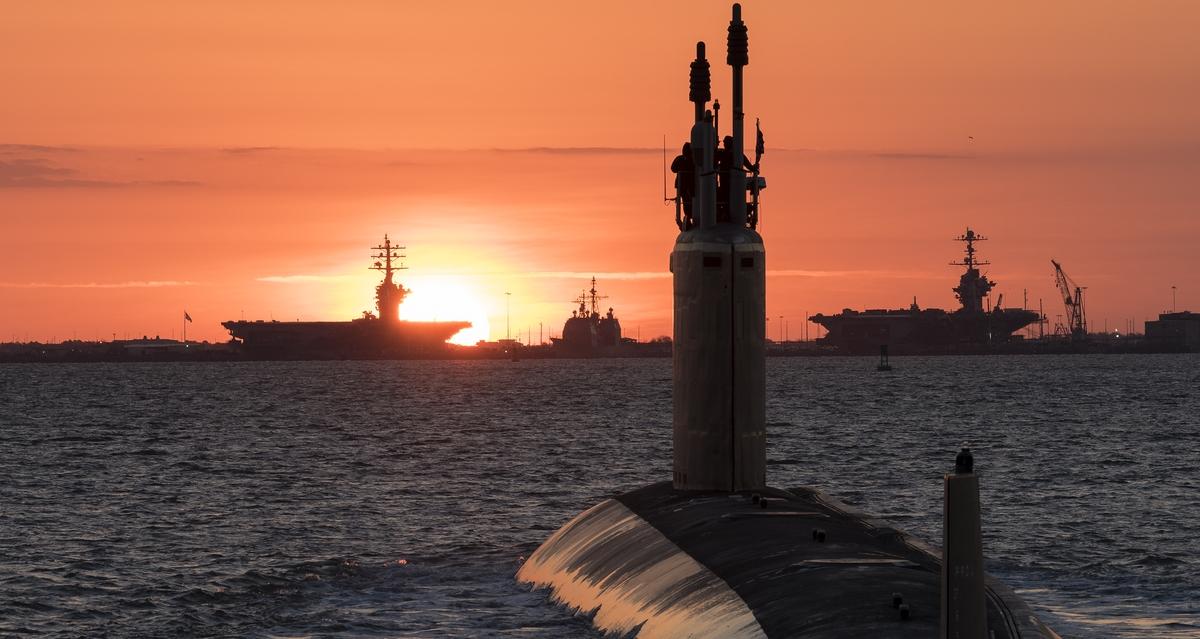Virginia-Class Submarine Washington Delivered to Navy