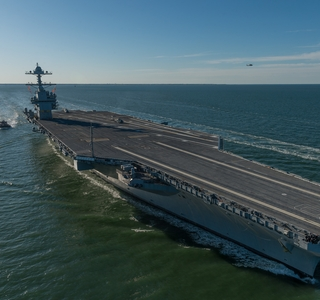 Video Release--Huntington Ingalls Industries Delivers Gerald R. Ford (CVN 78) To U.S. Navy