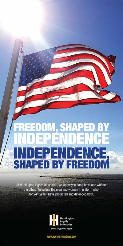 Freedom, Shaped by Independence