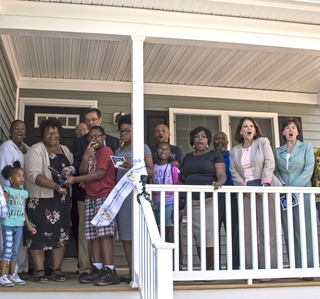 Photo Release—Huntington Ingalls Industries' Newport News Shipbuilding Division Dedicates 15th Habitat for Humanity House