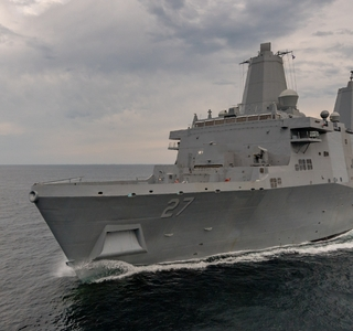 Video Release--Huntington Ingalls Industries Successfully Completes Builder's Trials For Amphibious Transport Dock Portland (LPD 27)