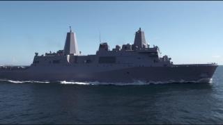 Portland Completes Acceptance Sea Trials