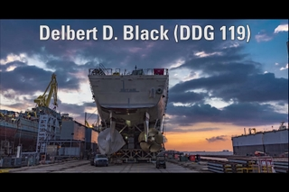 Delbert D. Black (DDG 119) Translation and Launch