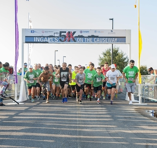 "Photo Release--Ingalls' Sixth Annual ""5K on the Causeway"" Raises $18,000 for Special Olympics"