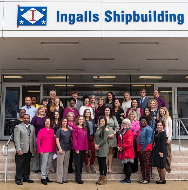 Stem School Virginia: Photo Release--Huntington Ingalls Industries Awards More