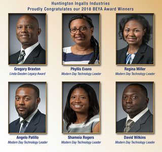 Photo Release--Huntington Ingalls Industries Employees Honored At 32nd Annual Black Engineer Of The Year Award STEM Conference