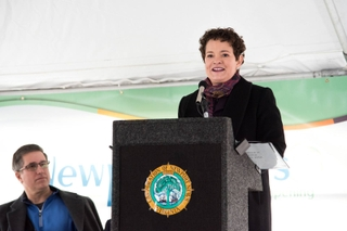 Jennifer Boykin Speaks at  Groundbreaking