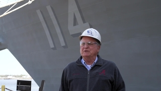Ralph Johnson (DDG 114) Sail Away Interview with Freddie Joe O'Brien