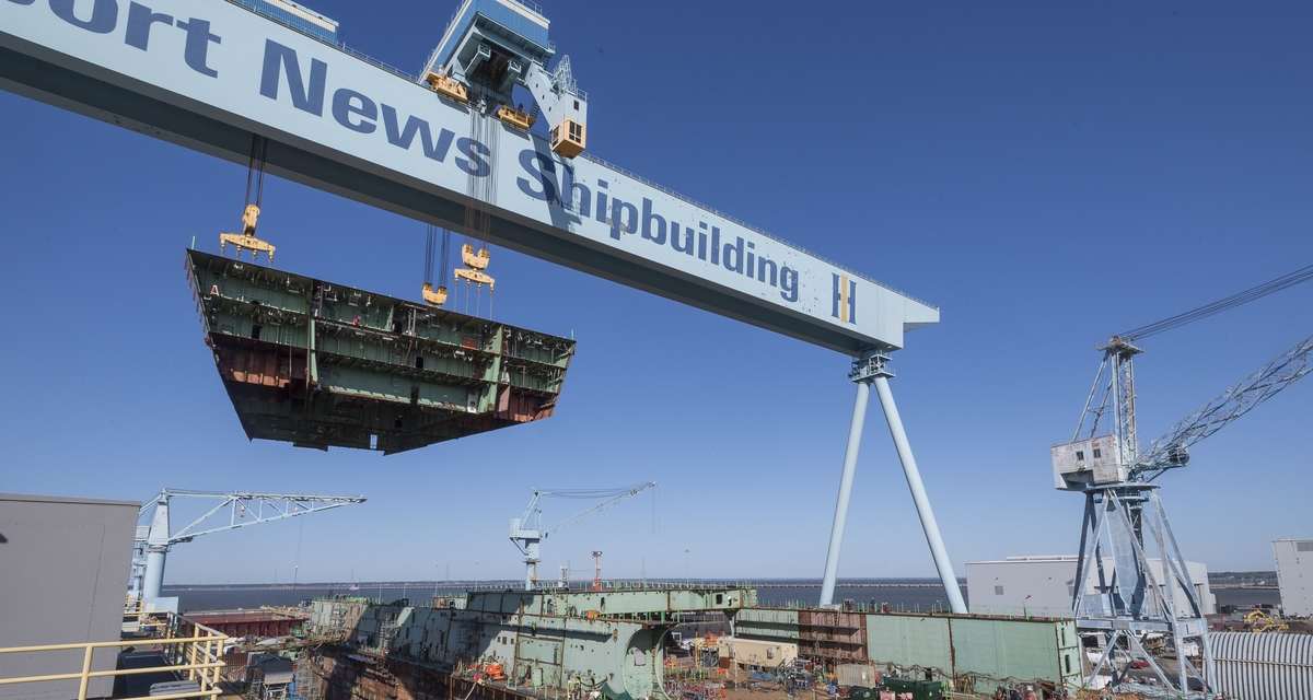 Video Release--Aircraft Carrier John F. Kennedy Reaches 75 Percent Structural Completion