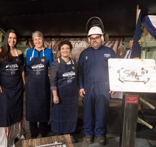 Photo Release--Huntington Ingalls Industries  Authenticates Keel of Submarine Montana (SSN 794)