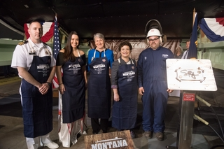 Montana (SSN 794) Keel Authenticated
