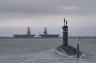 Indiana (SSN 789) Departs for Sea Trials