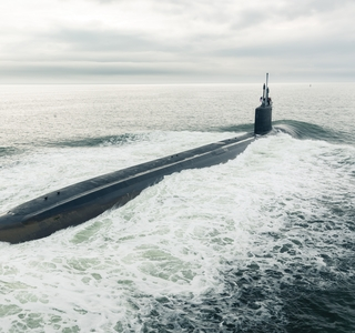 Photo Release--Huntington Ingalls Industries Delivers Virginia-Class Submarine Indiana (SSN 789) to U.S. Navy